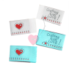 farbenmix Webetikett Crafting with LOVE 4er Set Labels