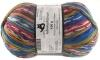 Schoppel Wolle Admiral R Druck 4-fach Sockengarn selbstmusternd Farbe Blaues Haus