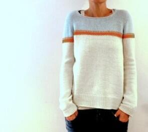 "Rosy Green Wool Anleitung Pullover ""Hamble"""