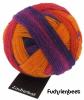 Schoppel Zauberball - Single Version - 4-fach Sockengarn Farbe Fuchsienbeet