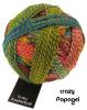 Schoppel Zauberball Crazy - 4-fach Sockengarn Farbe Papagei