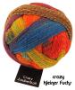 Schoppel Zauberball Crazy - 4-fach Sockengarn Farbe Kleiner Fuchs