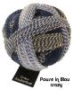 Schoppel Zauberball Crazy - 4-fach Sockengarn Farbe Pause in Blau