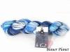 Schoppel Cat Print Hand-dye Collection 6 Karat - traumhaftes Schurwoll und Seidengarn Farbe Blauer Planet