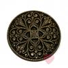 Bonfanti- Kunstvolles Ornament - schöner Knopf mit Öse