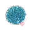 Miyuki Rocailles / Indianerperlen transparentgefärbt mit Silbereinzug 8/0 10g hellblau