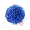 Miyuki Rocailles / Indianerperlen transparentgefärbt mit Silbereinzug 8/0 10g Azurblau