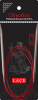 ChiaoGoo Rundstricknadel RED LACE mit Edelstahlspitzen 150cm lang