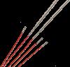 ChiaoGoo TWIST Red Seile SMALL für Nadelspitzen