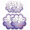 Clover Flower Frill Templates - Schablone für Stoff-Pompoms und Rüschenblüten klein und mittel