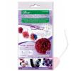 Clover Flower Frill Templates - Schablone für Stoff-Pompoms und Rüschenblüten klein und mittel 8460