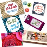 Postkarten, Magnete und Tüdelkram