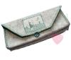 Wollfilz aus 100% Wolle 1mm in 10 Naturtönen in 20x30cm Platten Nähidee Täschchen
