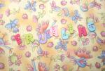"""Buchstabenhits für Kids 18mm - 2-Loch Knopf  """"H """" Beispielbild  """"Frühling """""""