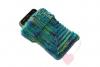 Handgestrickte Handy- oder MP3-Player-Socke
