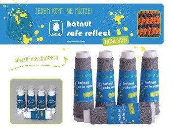 """hatnut """"Safe reflect"""" - floureszierendes Beilaufgarn"""