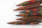 KnitPro - 1 Paar Nadelspitzen aus Symfonie-Holz für Wechselsystem
