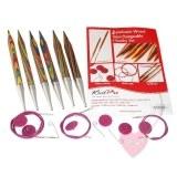 KnitPro Options Symfonie Chunky Set - mit Seilen und Nadeln aus Symfonie-Holz