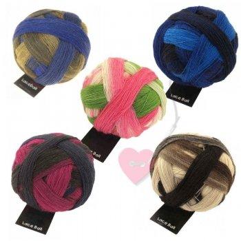 Schoppel Wolle Lace Ball - Lacegarn in vielen Färbungen