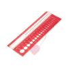KnitPro - Nadelschablone mit Lupe und Nadelmaß in inch und cm