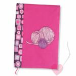Bücherkleid und Tagebuch