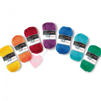 Pro Lana Basic Cotton - feines Baumwollgarn in über 30 Farben