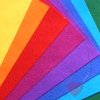Wollfilz aus 100% Wolle 1mm in leuchtenden Farben 20x30cm Platten