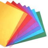 Wollfilz 100% Wolle 1mm in leuchtenden Farben 20x30cm Platten