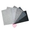 Wollfilz aus 100% Wolle 1mm in 10 Naturtönen in 20x30cm Platten grautöne