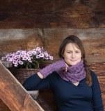 Rosy Green Wool Anleitung - Set Karwendel