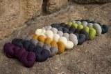 Rosy Green Wool Merino d´Arles - Bio Merinowolle GOTS