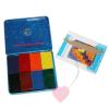 Stockmar - Wachsmalblöcke in der Schachtel 8 Farben im Set (Standartsortiment)