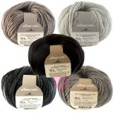 Schoppel Wolle Alb Merino naturbelassene Wolle