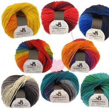 Schoppel Wolle Reggae ombré - bunte Merinowolle alle Farben