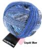 Schoppel Wunderklecks - kunstvoll bemaltes Sockengarn Farbe 2147 Liquid Blue