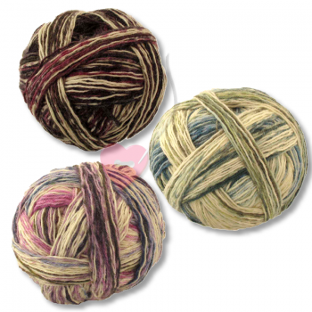 Schoppel Wolle Wunderklecks - kunstvoll bemaltes Sockengarn