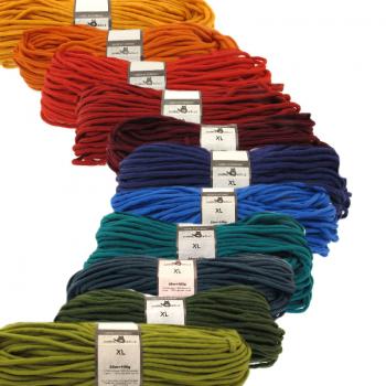 Schoppel Wolle XL - volumiges, extra dochtiges Rastagarn