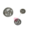Metallknopf in Antik-Optik - 2-Loch-Knopf, rustikal