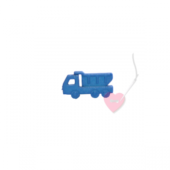 Lasterknopf 18mm - 2-Loch Knopf im Kipper-Design