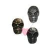 "Schmuckknopf ""Skull"" - Metall-Knopf mit Öse im Totenkopf-Design"