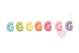 """Buchstabenhits für Kids 18mm - 2-Loch Knopf """"G"""""""