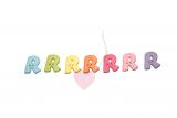 """Buchstabenhits für Kids 18mm - 2-Loch Knopf """"R"""""""