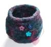 Jim Knopf - Keramik-Blume - 2-Loch Blütenknopf 26mm Dekobeispiel