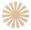 Clover Korbrahmen - in 2 verschiedenen Größen und 3 Formen für selbstgemachte Körbe rund, klein 8420
