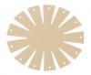 Clover Korbrahmen - in 2 verschiedenen Größen und 3 Formen für selbstgemachte Körbe oval, klein 8422