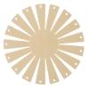 Clover Korbrahmen - in 2 verschiedenen Größen und 3 Formen für selbstgemachte Körbe rund, groß 8423