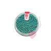 efco Rocailles / Indianerperlen metallic 2,6mm Farbe türkis