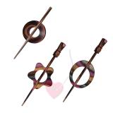 KnitPro Tuchnadel Symfonie Lilac - in 8 schönen Formen
