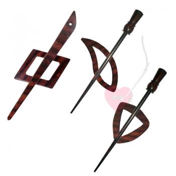 KnitPro Tuchnadel Symfonie Rose - in 8 schönen Formen