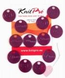 KnitPro 12 Nadelgrößen-Kennmarken in mm und US-Maß